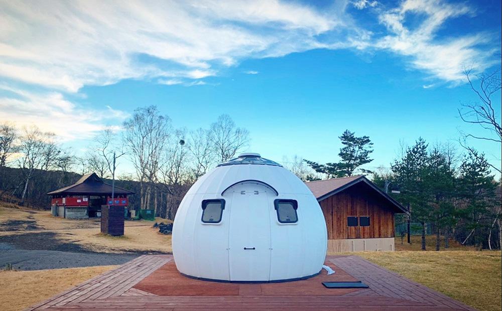 EZDOMEHOUSE BBQグランピングカプセルドーム